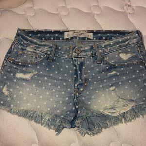 Abercrombie & Fitch polka dot shorts